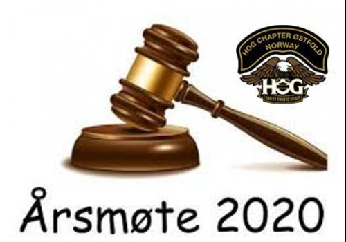 Innkalling Årsmøte 2020